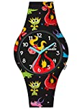 Doodle Watch Orologio per bambini con drago al quarzo con cinturino in silicone DO32012
