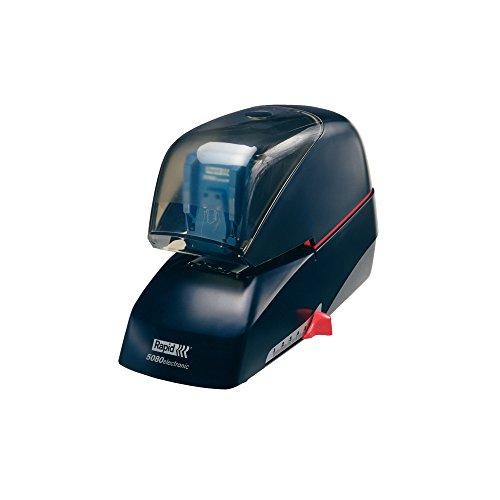 RAPID 20993410 - Grapadora eléctrica con tecnología Flat-Clinch modelo 5080E color negro