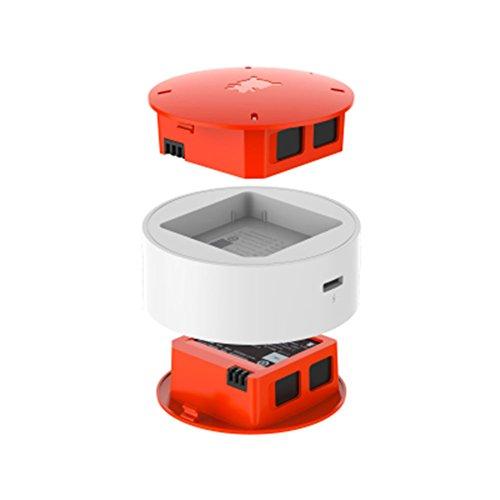FairOnly 2 Pezzi 920 mAh Batteria + Caricatore per Xiao-Mi MITU WiFi Quadcopter Drone Ricambio