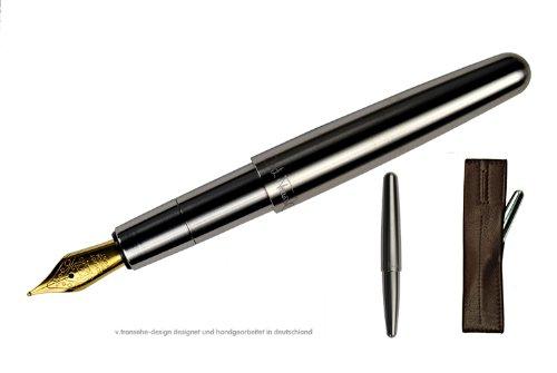 v. transehe design Taschenfüllfederhalter Scrivere steel