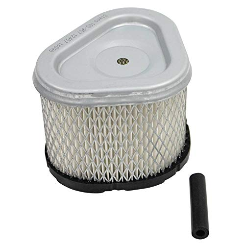 HIFROM Air Filter Pre Cleaner Fuel Filter Spark Plug Tune Up Kit Compatible with John Deere 180 185 LX186 F525 F710 GS25 GS30 HD45 HD75 265 325 GT262 Lawn Tractors M97266
