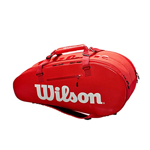 WILSON Super Tour 2 Compartment Large - Red/White