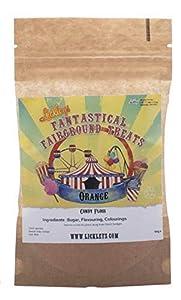 lickleys eléctrico moderno azul edición dulce y algodón de azúcar máquina choisissez votre propre azúcar sabor Confiserie Machine avec Orange Aromatisé Sucre