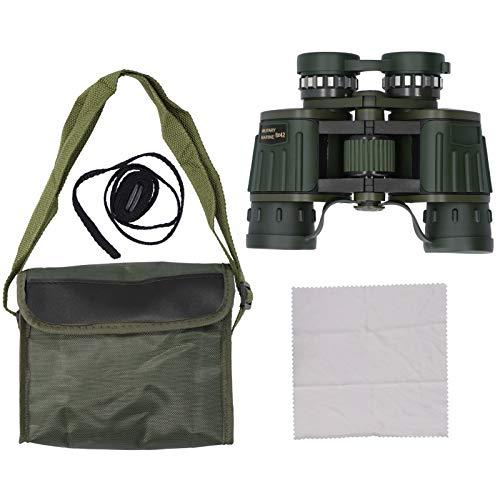Homeriy Binoculars Low Light Night Viewing Waterproof Mildew Proof Outdoor Product Army Green DF- 8X42
