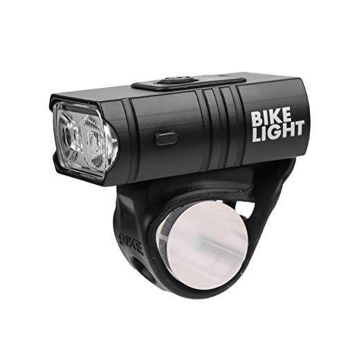 URUNI Luz de Bicicleta LED 10W 6 Modos USB Recargable Pantalla de Potencia Montaña Bike Bike Lámpara Frontal Equipo de Ciclismo