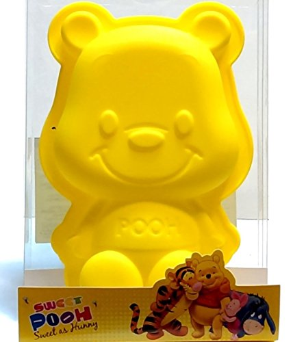 Winnie the Pooh Silicone Baking Pan Cake Chocolate Jelly Soap Mold Bakeware
