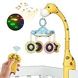 Móvil Musical Juguetes para Bebés,Juguetes para Cuna,Móvil Cuna Bebé...