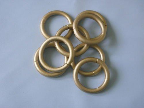 KS Handel 24 14 STK QUALITÄTS DUSCHVORHANGRINGE DUSCHVORHANG Gold DUSCHRINGE Shower Curtain Rings