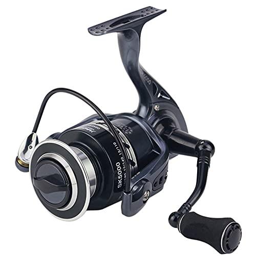AIWKR Carretes de pesca, carrete de pesca, para pesca de spinning partido, para pesca al aire libre, 2000, 3000, 4000, 5000, 6000, 7000