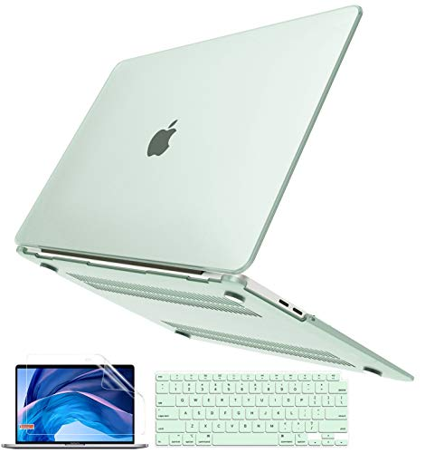B BELK MacBook Pro 13インチケース 2020 - 2016年発売 A2338 M1 A2251 A2289 A2159 A1989 A1706 A1708 スリムマットクリアプラスチックハードシェル+キーボードカバー+スクリーンスキン Mac Pro M1チップ2020 ケース タッチバー