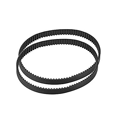 sourcing map GT2 Timing Belt 132mm Circumference 6mm Width Closed Fit Synchronous Pulley Wheel for 3D Printer 2pcs