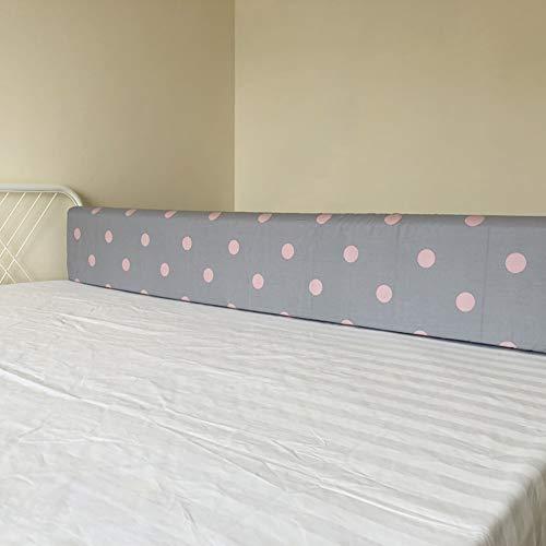 Barandilla de cama Parachoques del Protector de La Cama de La Barandilla del Bebé, Splicable Apilable de Espuma de Memoria Cama El Dormir Valla Cuna Ferrocarril para El Hogar del Recorrido de