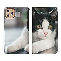 Xperia 10 II SOV43 ベルトなし 手帳型 スマホケース スマホカバー bn769(E) 猫 ねこ ネコ 動物 アニマル Xperia 10 II エクスペリア 10 ii カバー xperia sov43 スマートフォン スマートホン 携帯 ケース 手帳 ダイアリー フリップ スマフォ カバー