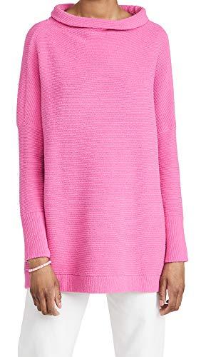 Free People Damen Ottoman Slouchy Tunika - Pink - (42 DE/44 DE) Large