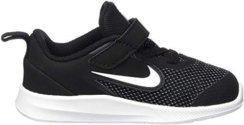 Nike Unisex-Kinder Downshifter 9 (TDV) Leichtathletikschuhe, Schwarz (Black/White/Anthracite/Cool Grey 000), 25 EU