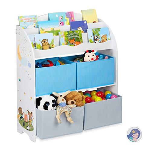Relaxdays - Möbel & Kinderzimmerdeko in Lagerfeuer, Größe 1 Stück