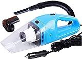 LXNQG 120W High Power Palmare Elettrico Aspirapolvere Aspirapolvere Li-Ion Batteria Leggera Asciugatura a Secco per la casa/Pet/Auto, Blu (Color : Blue)