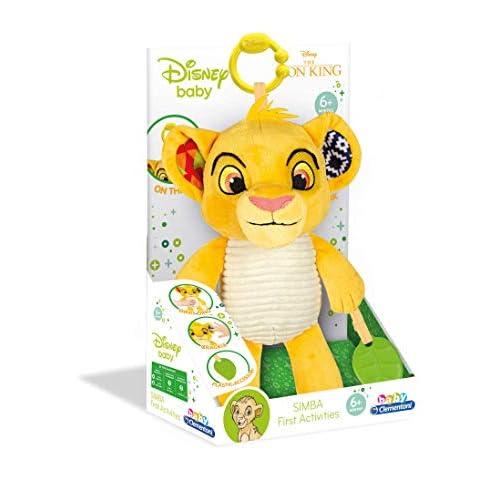 Clementoni 17296 Disney Lion King First Activities Plush, Peluche Disney Re Leone