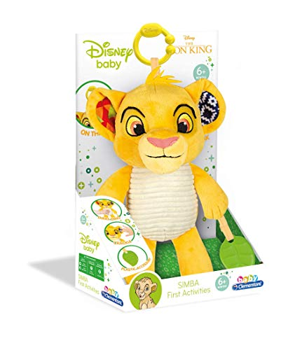 Clementoni - 17296 - Disney Lion King First Activities Plush