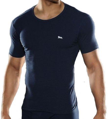Lonsdale Uomo Canottiera Intima Biancheria T-Shirt blu - blu, L
