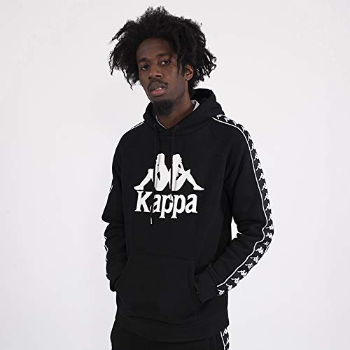 Kappa Arnie Auth Backpack Mochila, Unisex Adulto, Black/Gold, Talla Única