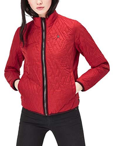 G-STAR RAW Damen Jacke Übergangsjacke gesteppt Steppjacke (Rot, XS)