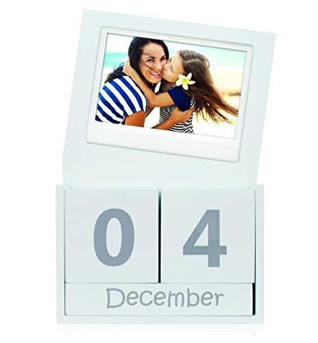 Fujifilm Instax Wide Würfelkalender, weiß