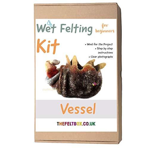The Felt Box Kit de fieltro húmedo para fieltro avanzado