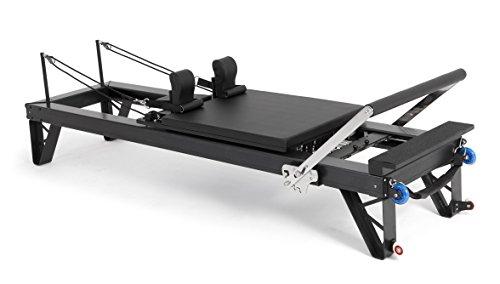 ELINA PILATES. Reformer DE Aluminio HL3 - Máquina Pilates para Profesionales. 42 cm Altura de Cama. Reformer desarrollado por técnicos Expertos en Pilates de Todo el Mundo.
