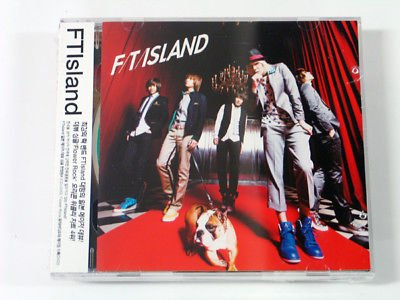 FNC Entertainment Ftisland - Flower Rock (Japan Single) Cd + Dvd