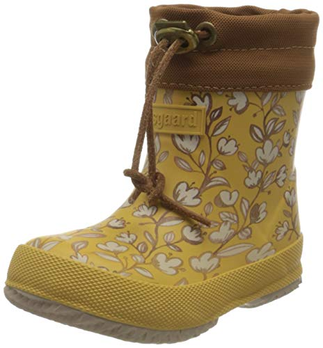 Bisgaard Thermo Baby Rain Boot, Mustard, 21 EU