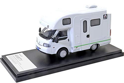Hi Story 1/43 AtoZ AMITY Bosco キャンピングカー (マツダ ボンゴトラック 2019) グリーンライン 完成品 HS313GR