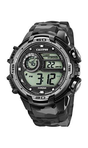 Calypso Reloj Digital para Hombre de Cuarzo con Correa en Plástico K5723/3