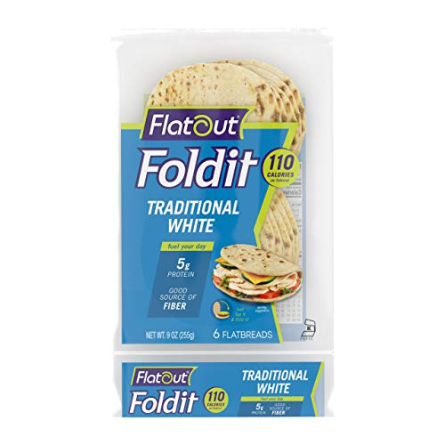 Flatout Foldit, Traditional White (2 Packs of 6 Foldits)