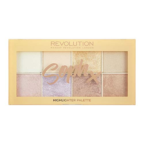 6. Makeup Revolution SophX Highlighter Palette
