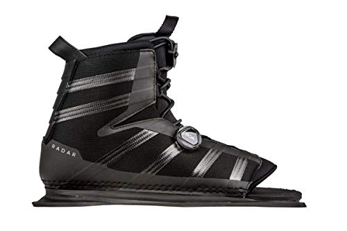 Radar Waterski Vector BOA Boot - Carbon/Black - Front Feather Frame (7-11)