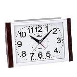 Atlanta Reloj despertador analógico sin tic tac, números g