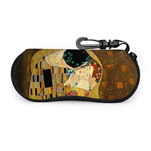 Arvolas Giraffes Soft Eyeglass Case para mujeres hombres Gustav Klimt The Kiss