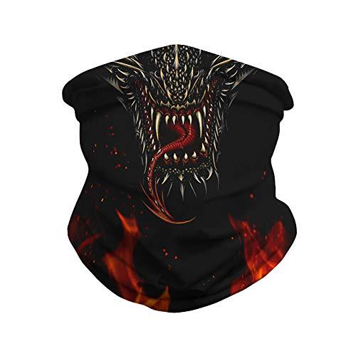 Azuki Face Mask for Men and Women,Face Mask Bandanas for Dust, Outdoors, Festivals, Sports