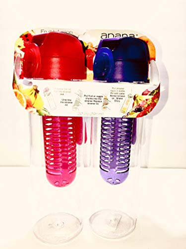 Apana Shine On Fruit Infusion Wasserflasche (transparent)