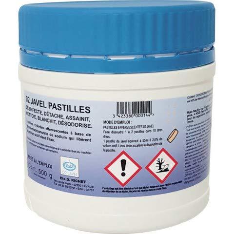 JAVEL PASTILLES EFFERVESCENTES X150