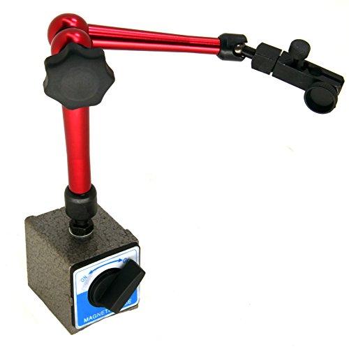 HFS (Tm) Magnetic Base Adjustable Metal Test Indicator Holder Digital Level 14' - Tool Stand