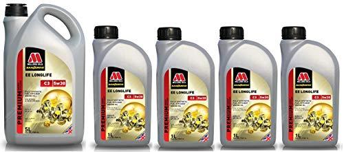 Millers Oils EE Longlife 5w30 C3 SN LL04 Dexos 2 225.51 505.01 502.00 Motorolie, 9 liter