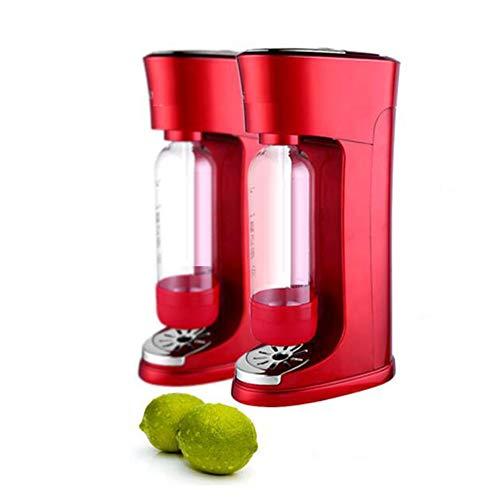 Sodaherstellers Küchengeräte kommerzielle Soda Blase Entsalzungsanlage Familie DIY Trinkmaschine,Rot