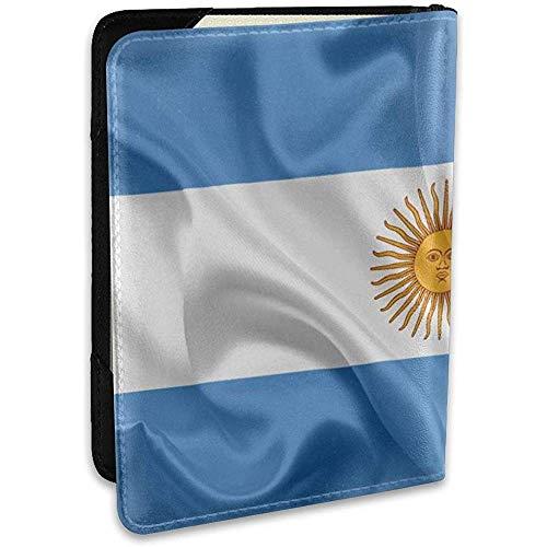 Bandera Argentina Argentina Sudamérica Bandera de Seda de Argentina Moda Cartera de Viaje de Cuero 6.5 In