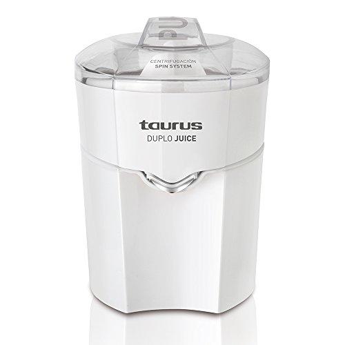 Taurus Duplo Juice 924.174, 30 W, 1 Liter, 0 Decibelios, PU|Acero Inoxidable