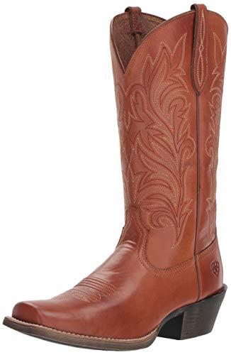 Ariat Women's ROUND UP STOCKYARDS Boot, naturally rich, 11 B US