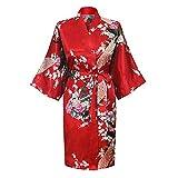 Pijamas De Manga De Cinco Puntos para Mujer, Albornoz, CamisóN Individual De Verano, CamisóN Largo para Servicio A Domicilio, Pijamas para Mujer