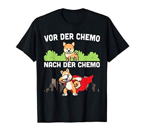Für Kämpfer gegen Krebs | Chemotherapie Chemo Leukämie Hund T-Shirt