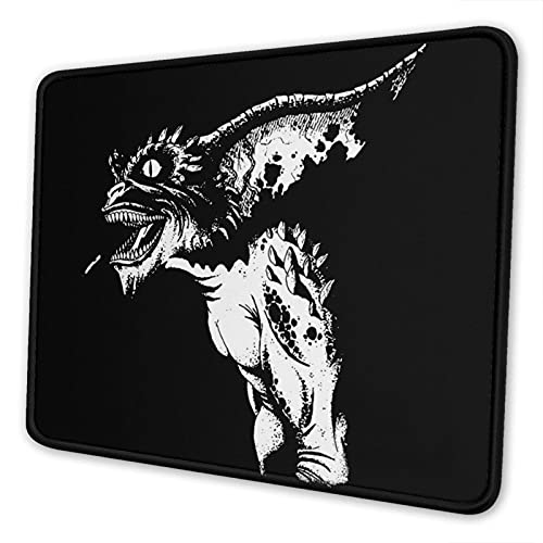 Eliphs Gremlins The Mouse Pad with Stitched Edge Premium-Textured Mouse Mat Rectangle Non-Slip Rubber Base Gaming Vertical Mouse Pad,for Laptop Computer & Pc 10x12 in 8.3 X 10.3 in